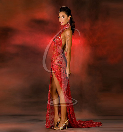 Miss Hawaii USA Evening Gown