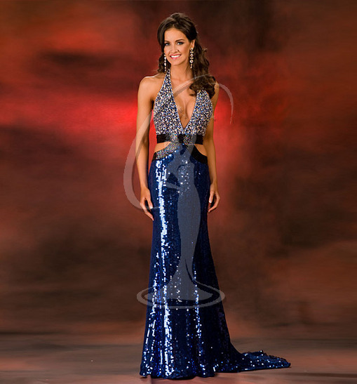 Miss Illinois USA Evening Gown