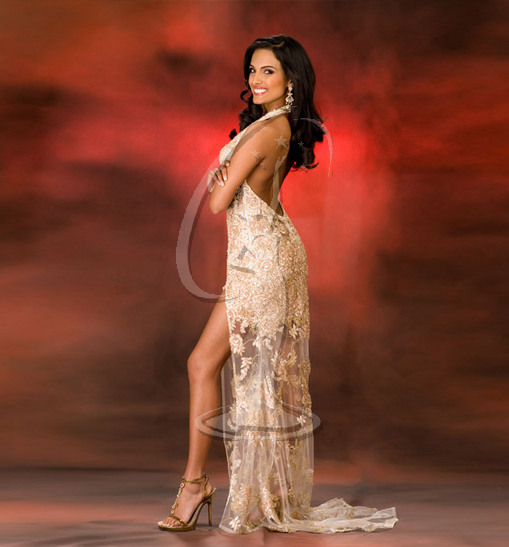 Miss Indiana USA Evening Gown