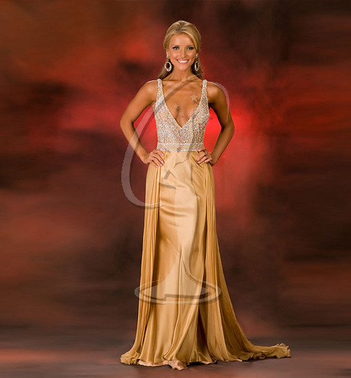 Miss Louisiana USA Evening Gown