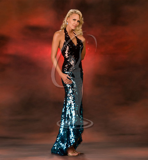 Miss Montana USA Evening Gown