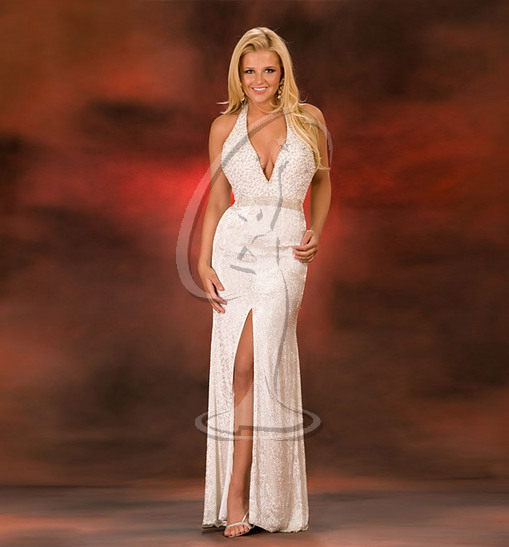 Miss Nevada USA Evening Gown