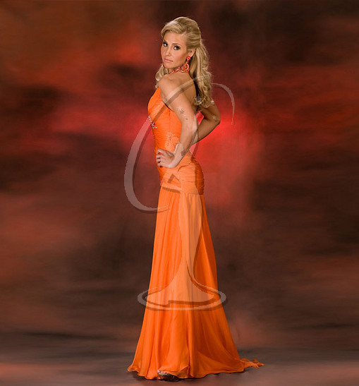 Miss Oklahoma USA Evening Gown