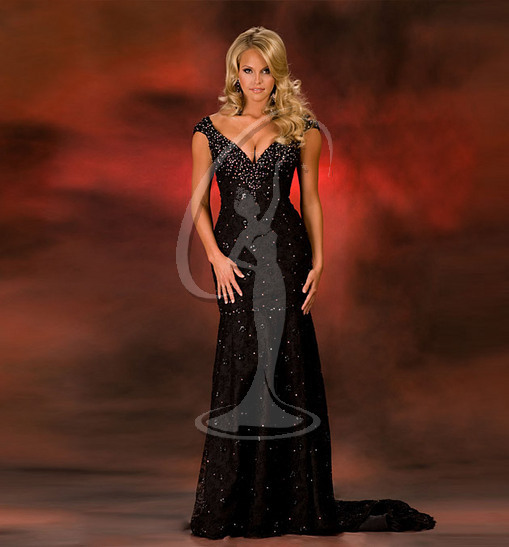 Miss Texas USA Evening Gown