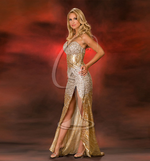 Miss Wisconsin USA Evening Gown