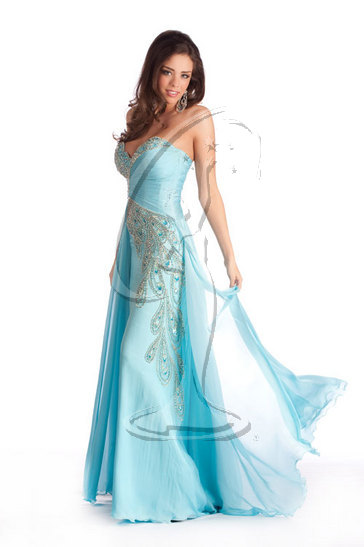 Miss Idaho USA 2010 - Evening Gown