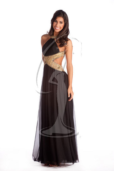 Miss Kansas USA 2010 - Evening Gown