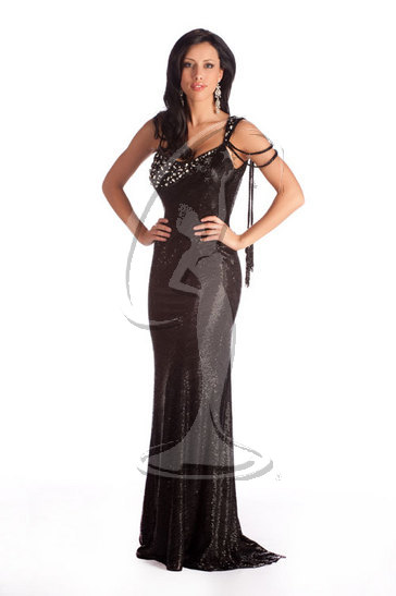 Miss North Dakota USA 2010 - Evening Gown