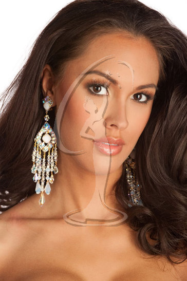 Miss Wisconsin USA 2010 - Close-up
