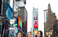 Miss Universe in Times Square