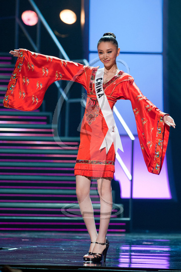 China - Preliminary Competition Gown