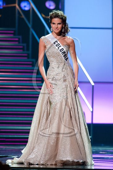 Colombia - Preliminary Competition Gown
