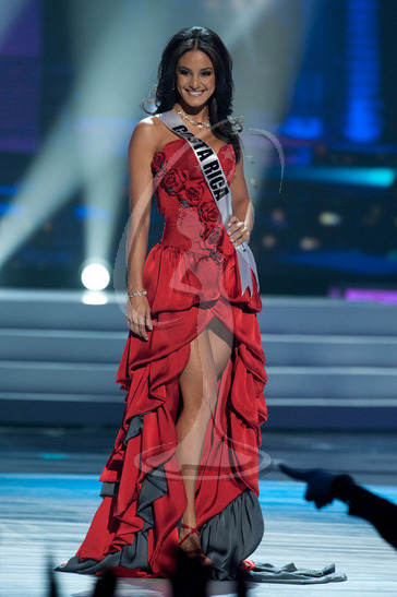 Costa Rica - Preliminary Competition Gown