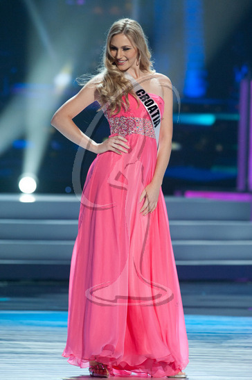 Croatia - Preliminary Competition Gown