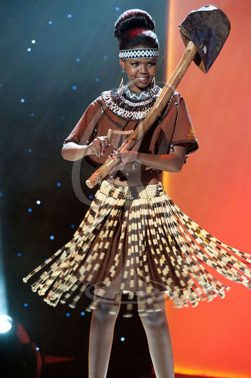 Botswana - National Costume