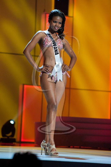 Botswana - Preliminary Competition Swimwear