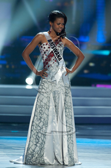 Botswana - Preliminary Competition Gown
