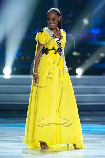 St. Lucia - Preliminary Competition Gown