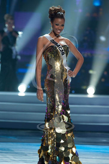 Curacao - Preliminary Competition Gown