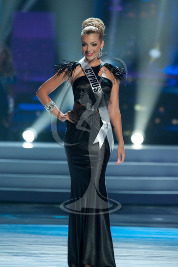 Cyprus - Preliminary Competition Gown
