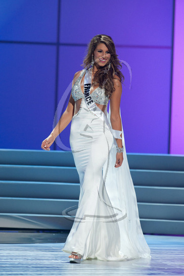 France - Preliminary Competition Gown