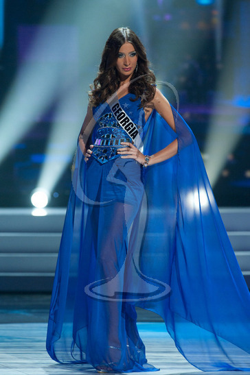 Georgia - Preliminary Competition Gown