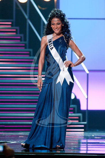 India - Preliminary Competition Gown
