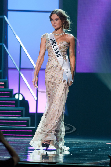 Ireland - Preliminary Competition Gown