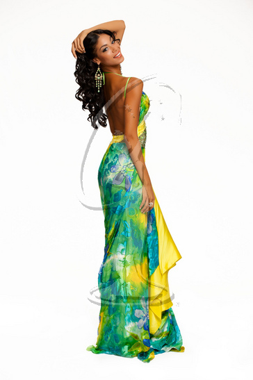 Jamaica - Evening Gown