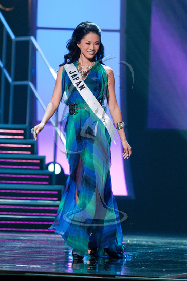 Japan - Preliminary Competition Gown