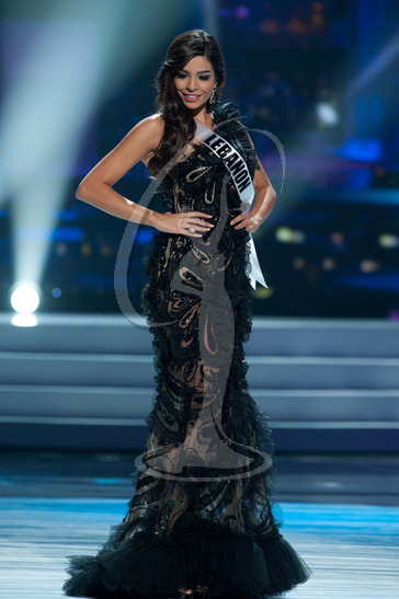 Lebanon - Preliminary Competition Gown