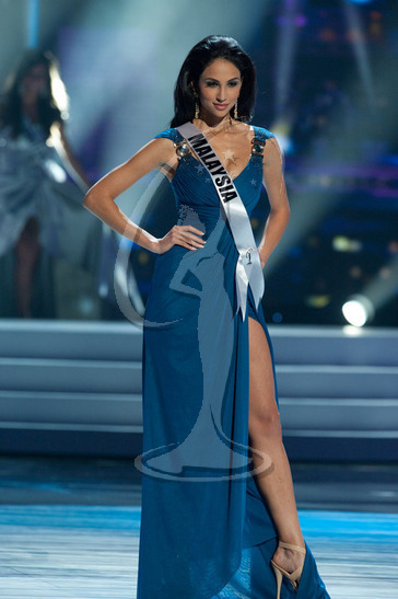 Malaysia - Preliminary Competition Gown