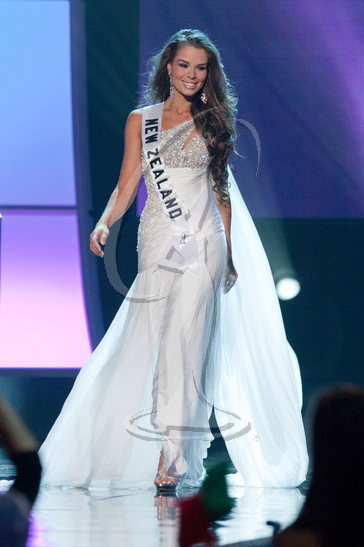 New Zealand - Preliminary Competition Gown