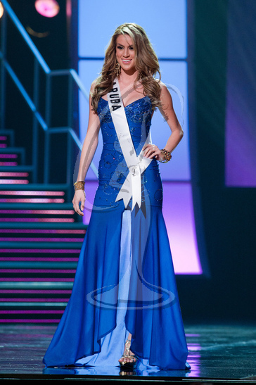 Aruba - Preliminary Competition Gown