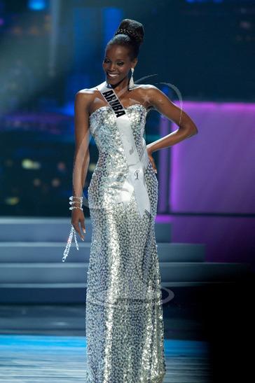 Aruba - Preliminary Competition Gown