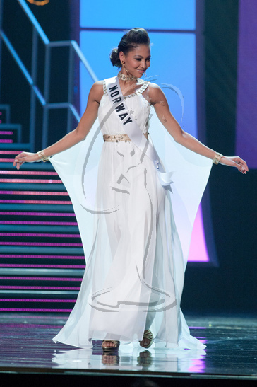 Norway - Preliminary Competition Gown