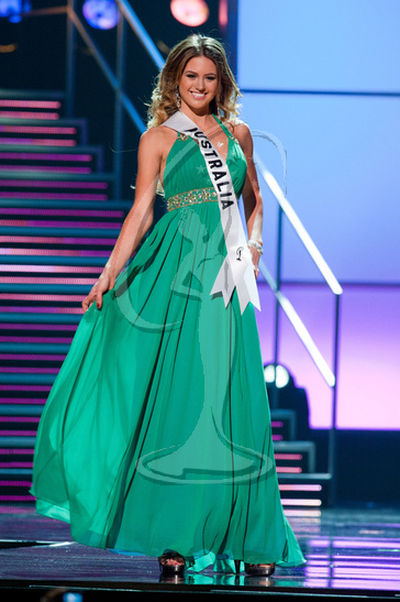 Australia - Preliminary Competition Gown