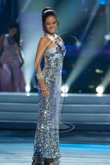 Singapore - Preliminary Competition Gown