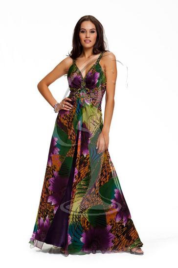 South Africa - Evening Gown