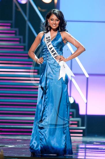 Sri Lanka - Preliminary Competition Gown