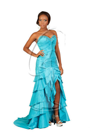 Turks & Caicos - Evening Gown