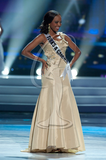 Turks & Caicos - Preliminary Competition Gown