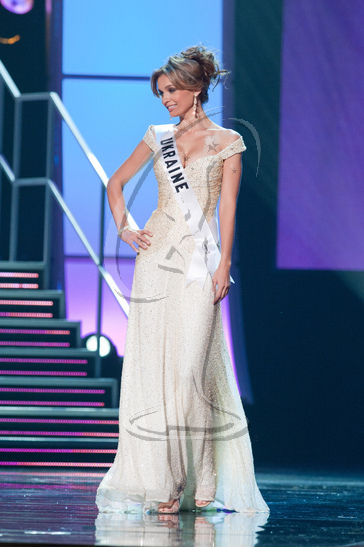 Ukraine - Preliminary Competition Gown