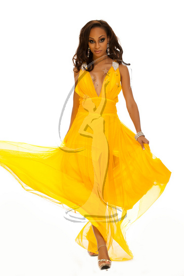 U.S. Virgin Islands - Evening Gown