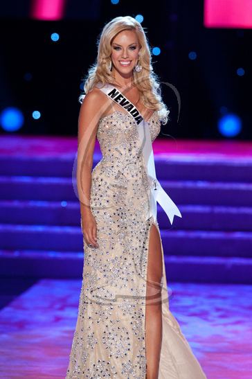 Nevada - Preliminary Competition Gown