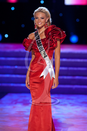 South Carolina - Preliminary Competition Gown