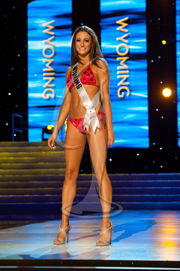 Wyoming - Preliminary Competition Swimwear