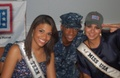 Rima and Kamie's USO Tour through Spain & Portugal