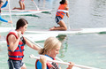 West Surfing Paddleboard Race