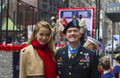 Miss USA 2015 attends the NYC Veteran's Day Parade